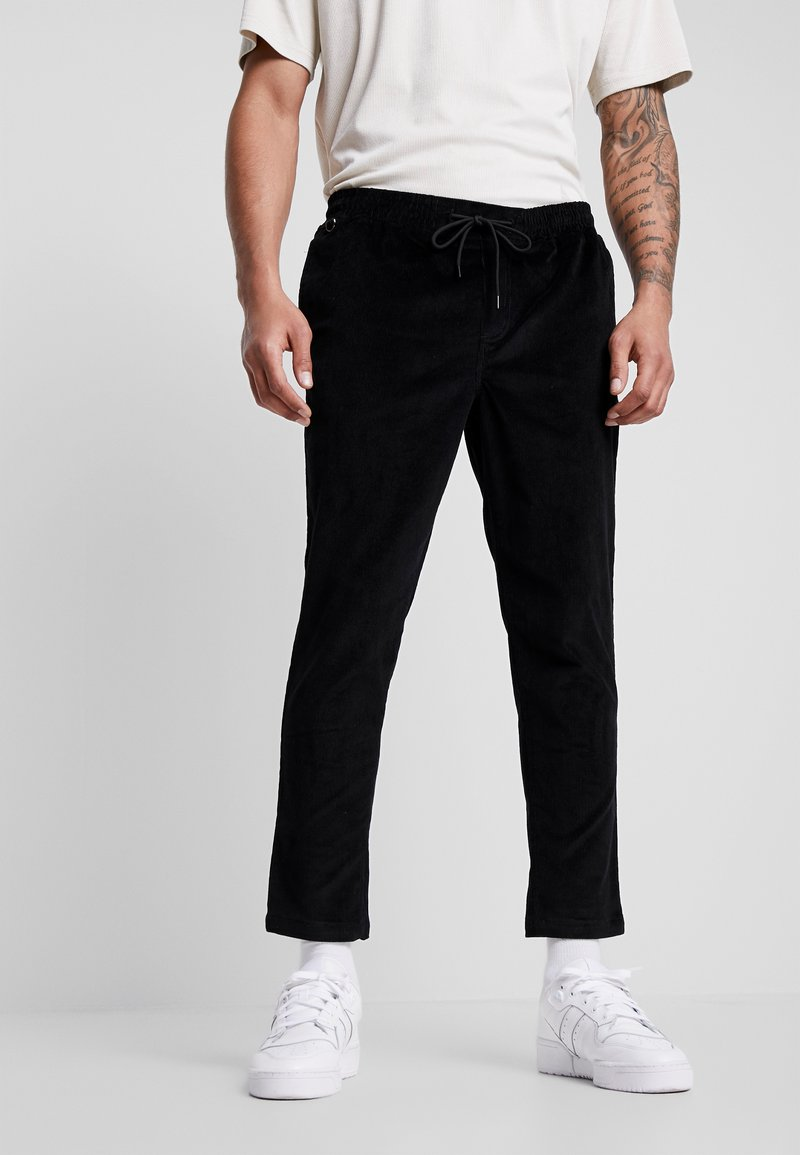 New Look - PULL ON TROUSER - Trousers - black