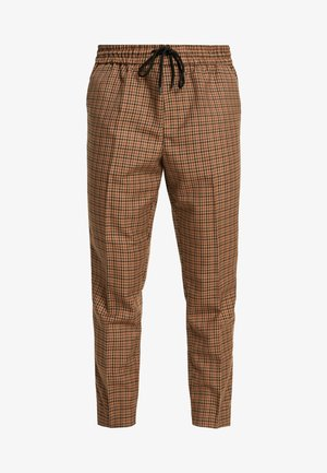CROP GINGER WATERS - Pantalones - mid brown