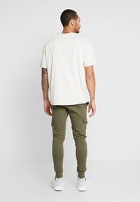 New Look - UTILITY JOGGER - Cargo trousers - dark khaki - 2