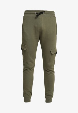 UTILITY JOGGER - Pantalon cargo - dark khaki