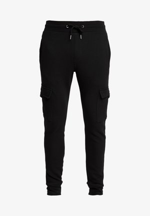 UTILITY JOGGER - Cargo trousers - black