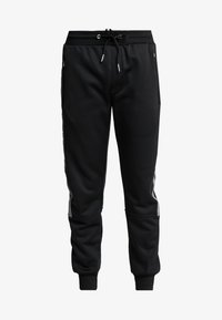 New Look - STREFLECTIVE SIDE JOGGER - Tracksuit bottoms - black - 4