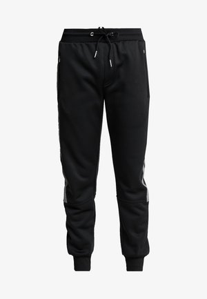 STREFLECTIVE SIDE JOGGER - Tracksuit bottoms - black