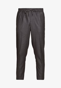 New Look - STRIPE PULL ON - Pantaloni - mid grey - 3
