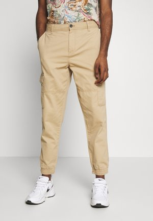 CUFFED CARGO TROUSER - Cargobroek - tan