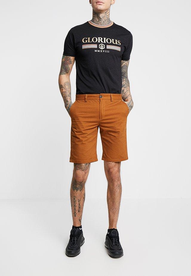 Shorts - mid brown