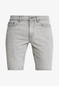 New Look - Szorty jeansowe - light grey - 4