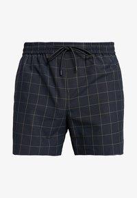 New Look - TRANS CHECK - Shorts - navy - 4