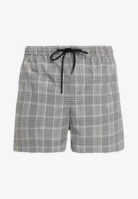 New Look - SMART CHECK  - Shorts - grey - 4