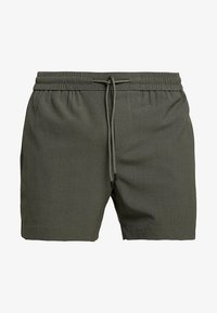 New Look - PIPING - Shorts - dark khaki - 4