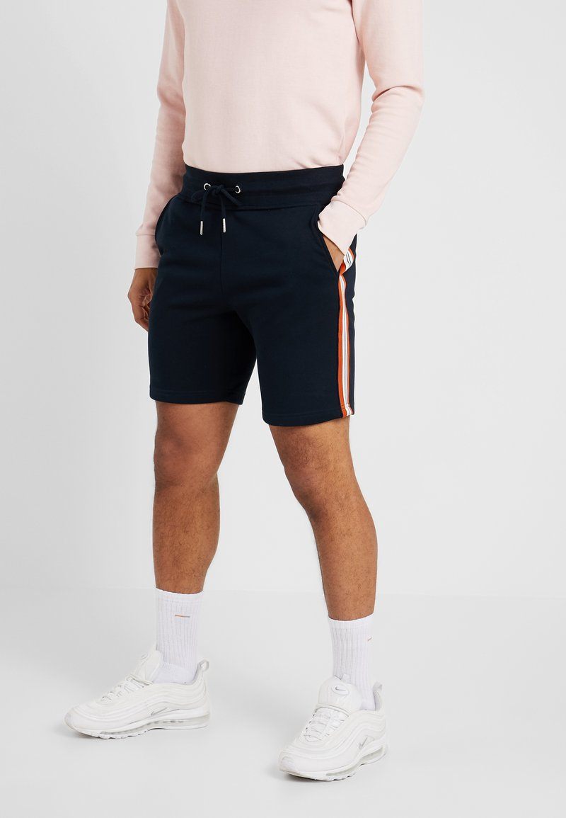 New Look - SIDE TAPE - Shorts - navy