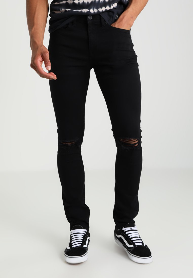 New Look - BUDAPEST - Jeansy Skinny Fit - black
