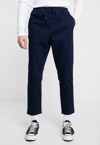 New Look - THORNTON PULL ON - Relaxed fit jeans - dark blue - 0