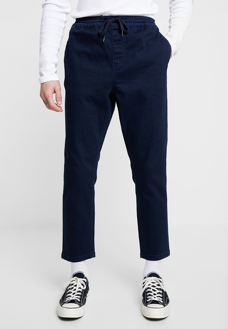 New Look - THORNTON PULL ON - Relaxed fit jeans - dark blue
