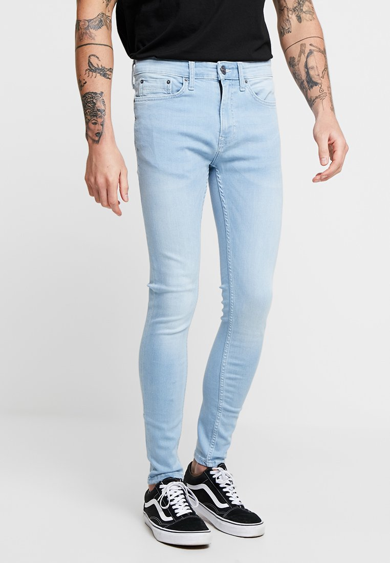 New Look - POWDER SPRAY ON - Jeans Skinny Fit - light blue