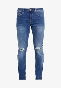 New Look - Slim fit jeans - mid blue - 3