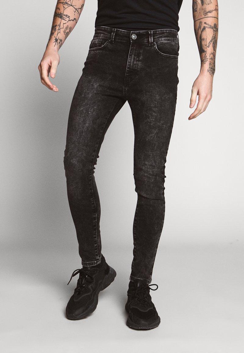 New Look - ASHDOWN - Vaqueros pitillo - black