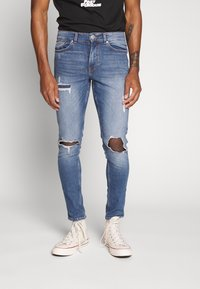 New Look - OLIVER - Jeans Skinny Fit - mid blue - 0