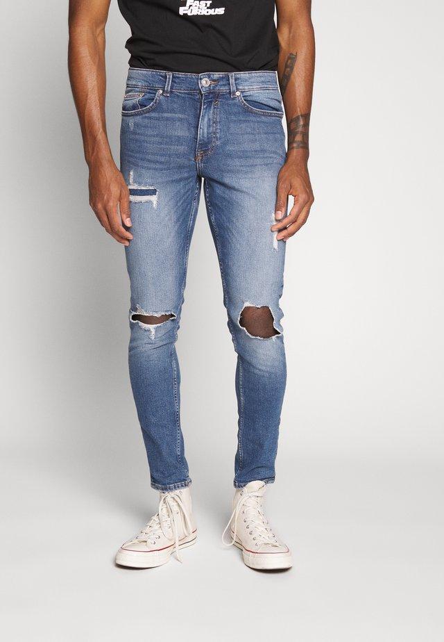 OLIVER - Skinny džíny - mid blue