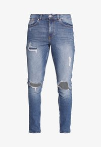 New Look - OLIVER - Jeans Skinny Fit - mid blue - 5
