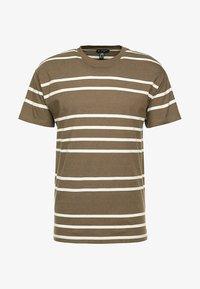 New Look - PARSNIP STRIPE TEE - T-shirt imprimé - mink - 3