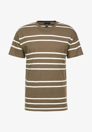 PARSNIP STRIPE TEE - Print T-shirt - mink