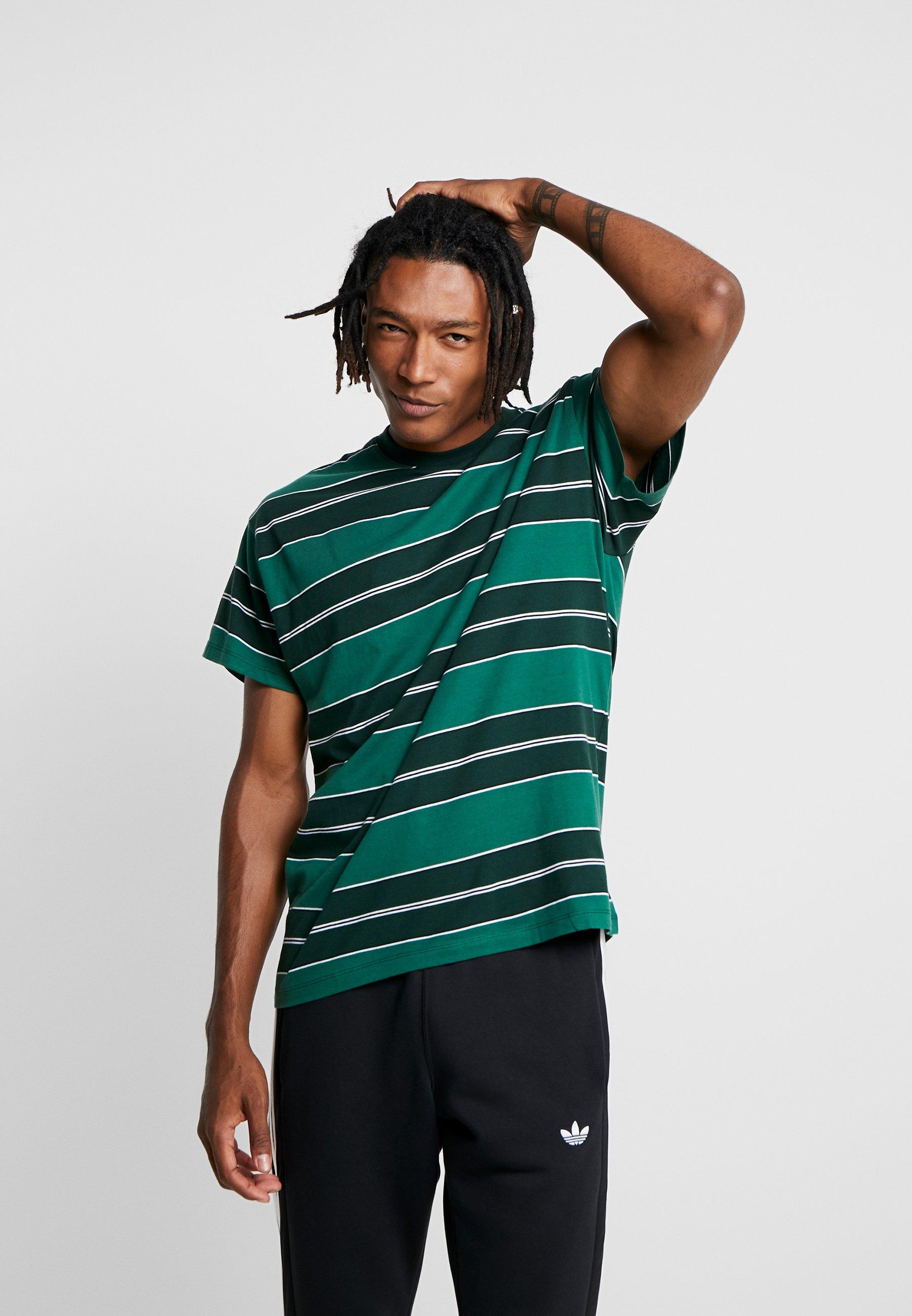 Look New Green Filey Stripe TeeT shirt Imprimé bYyIf67gvm