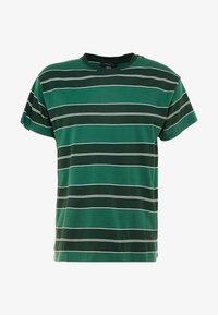 New Look - FILEY STRIPE TEE  - T-Shirt print - green - 3