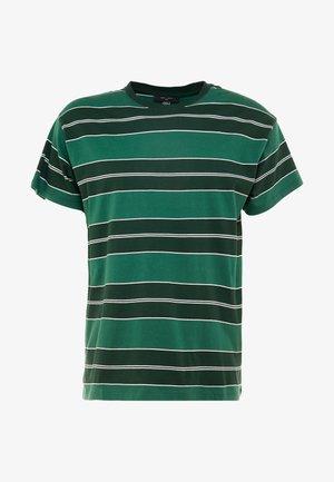 FILEY STRIPE TEE  - T-shirt z nadrukiem - green