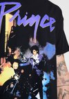 New Look - PURPLE RAIN TEE - Camiseta estampada - black