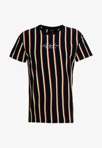 New Look - ALFA VERT STRIPE TEE - T-shirt con stampa - navy - 3