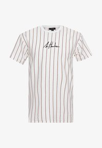 New Look - ATLANTIC VERT STRIPE TEE - T-shirt con stampa - white - 3