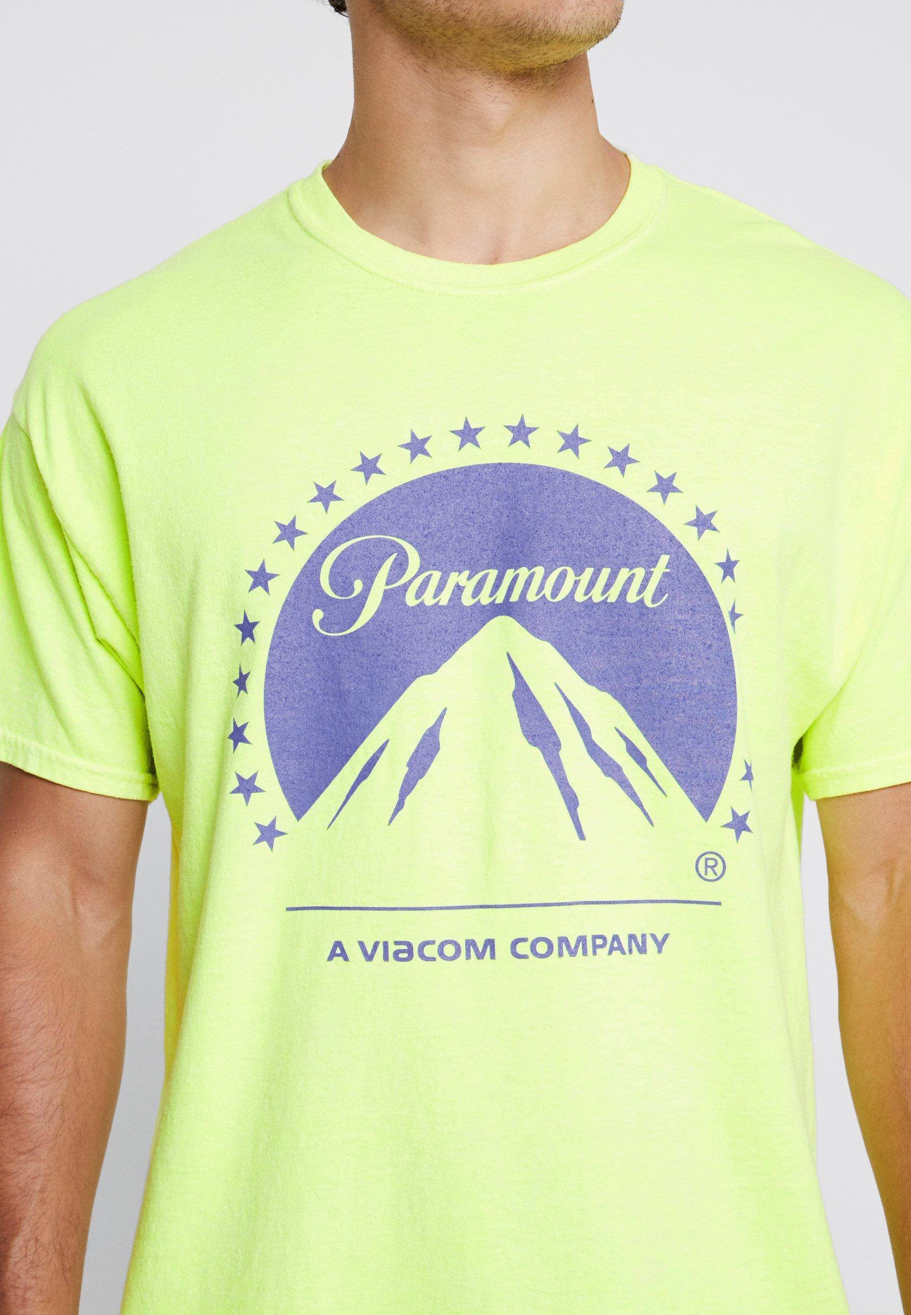New Look PARAMOUNT TEE - Camiseta estampada light yellow