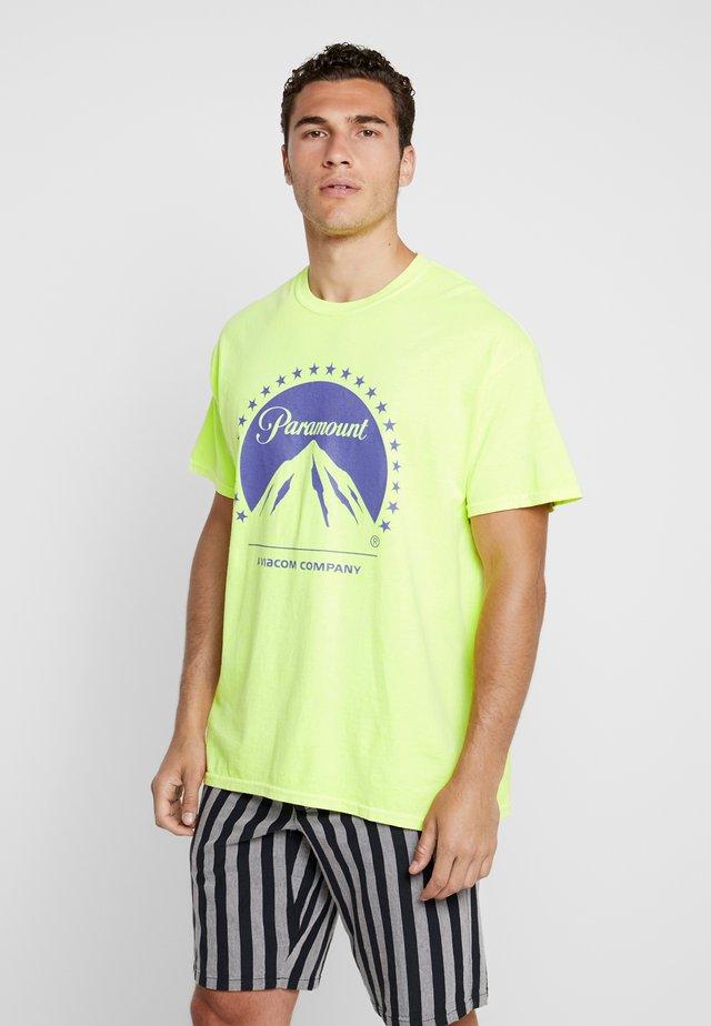 PARAMOUNT TEE - T-shirt print - light yellow