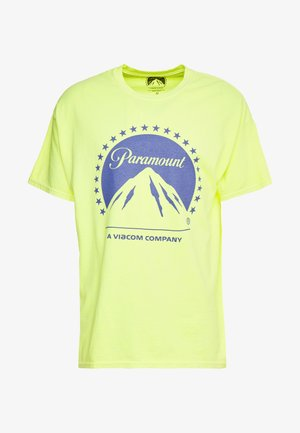 PARAMOUNT TEE - T-shirt con stampa - light yellow