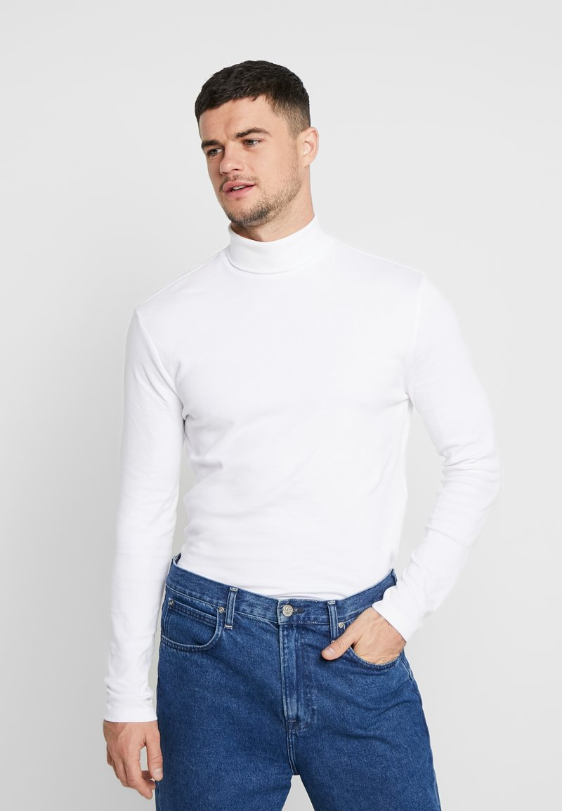 New Look - ROLL NECK - T-shirt à manches longues - white