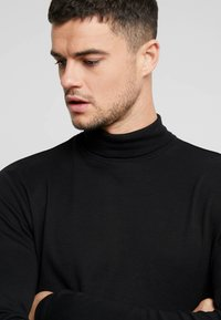 New Look - ROLL NECK - Topper langermet - black - 4