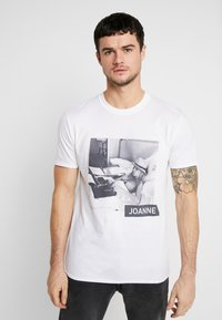 New Look - LADY TEE - Print T-shirt - white - 0