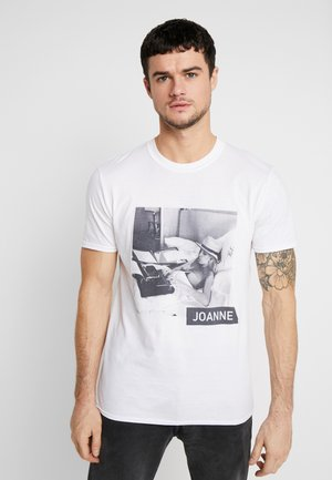 LADY TEE - T-shirt con stampa - white