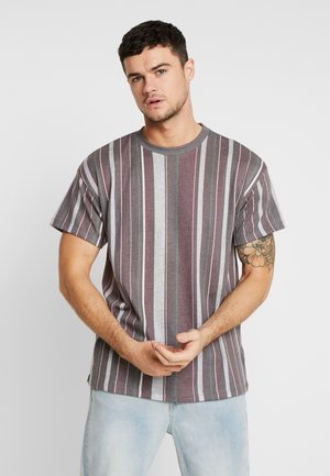 STRIPE TEE  - Basic T-shirt - light khaki