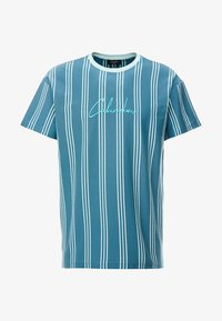 New Look - COLUM STRIPE - T-shirt con stampa - light green - 3