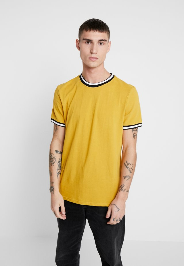 TIPPED TEE - T-shirt basic - mid yellow