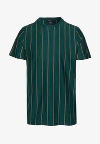 New Look - VERT STRIPE TEE - T-shirt imprimé - teal - 4
