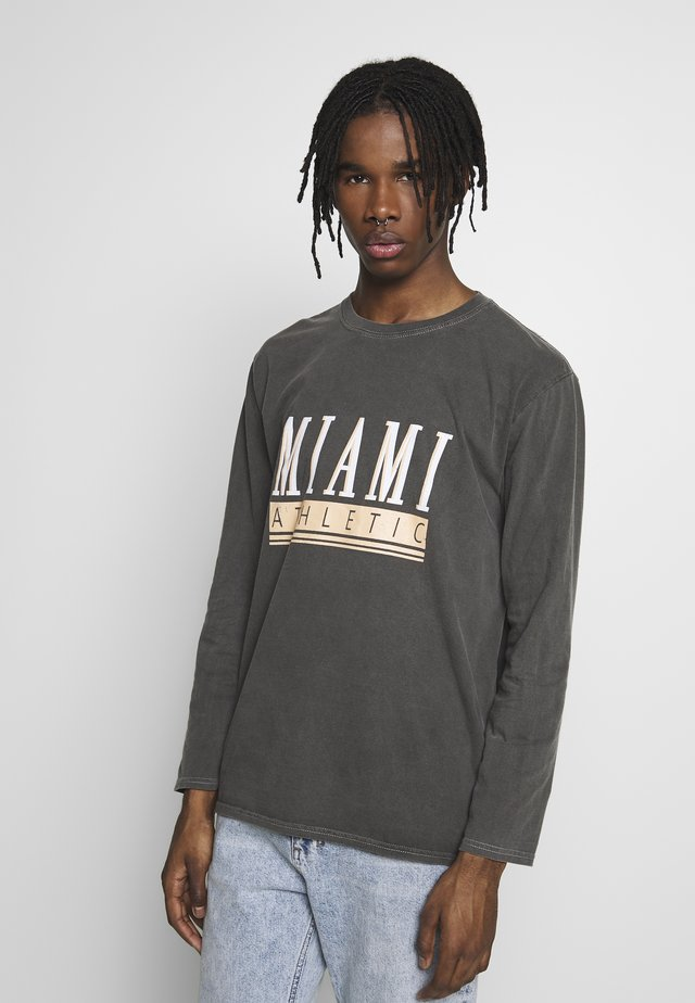 MIAMI - Langærmede T-shirts - dark grey