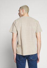 New Look - JAPAN PRINT TEE - Print T-shirt - tan - 2