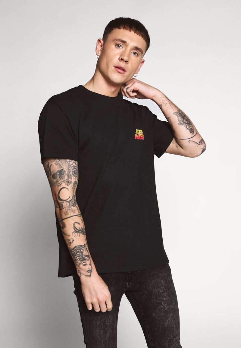 New Look - STAR WARS TEE - T-shirts med print - black