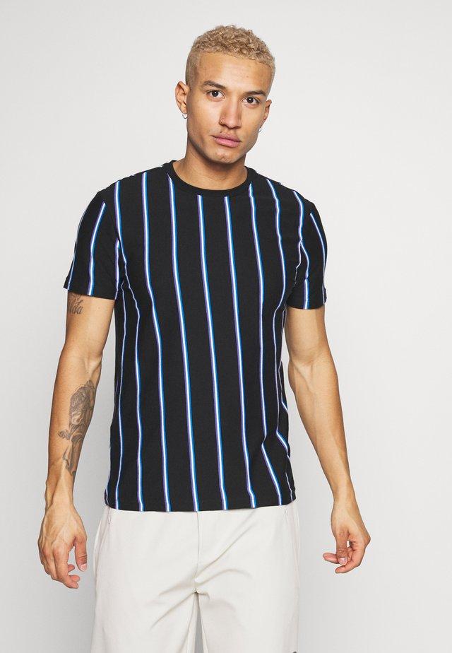 VERT STRIPE TEE - T-shirt print - black