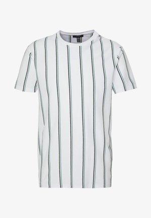STRIPE TEE - Camiseta estampada - white