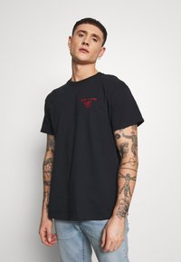 New Look - HANG LOOSE TEE - T-shirt print - black - 0