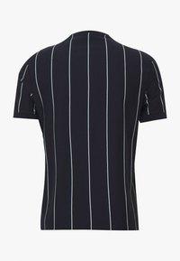 New Look - VERT STRIPE TEE - Print T-shirt - navy - 1
